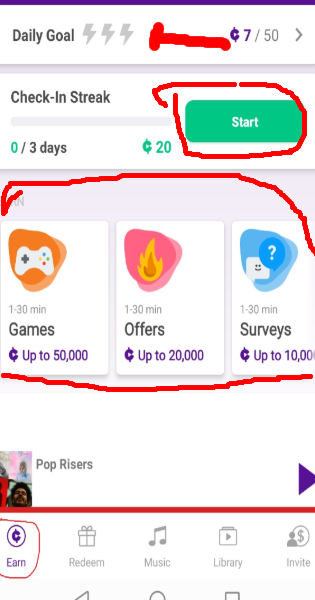 earn current