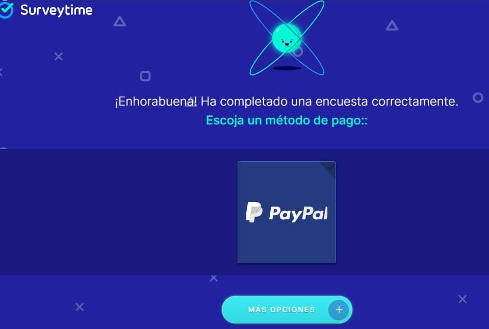 surveytime payment PayPal